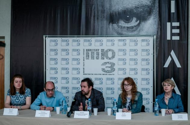 Пресс-конференция в ТЮЗе