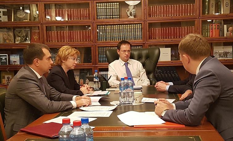 Наоткрытие омской «Галёрки» приедет Владимир Мединский