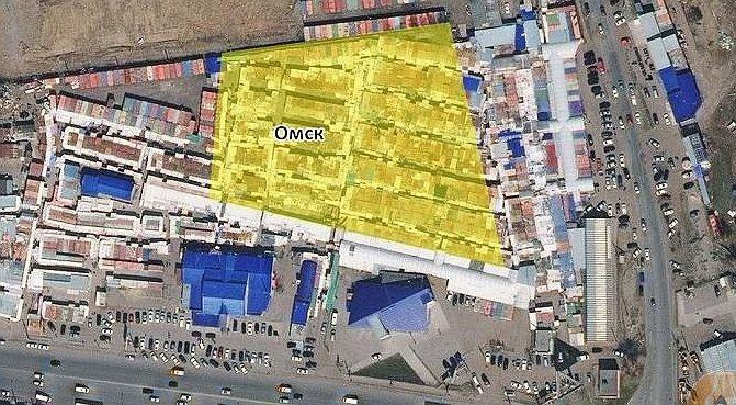 Наместе китайской оптовки вОмске будут строить торговый комплекс