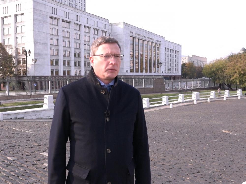 Омский губернатор Бурков провёл переговоры сконсулом Казахстана