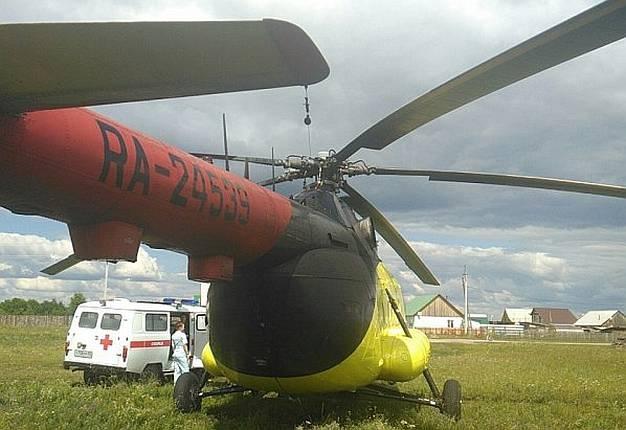 Омская санавиация получила 2-ой вертолет для помощи жителям отдаленных сел