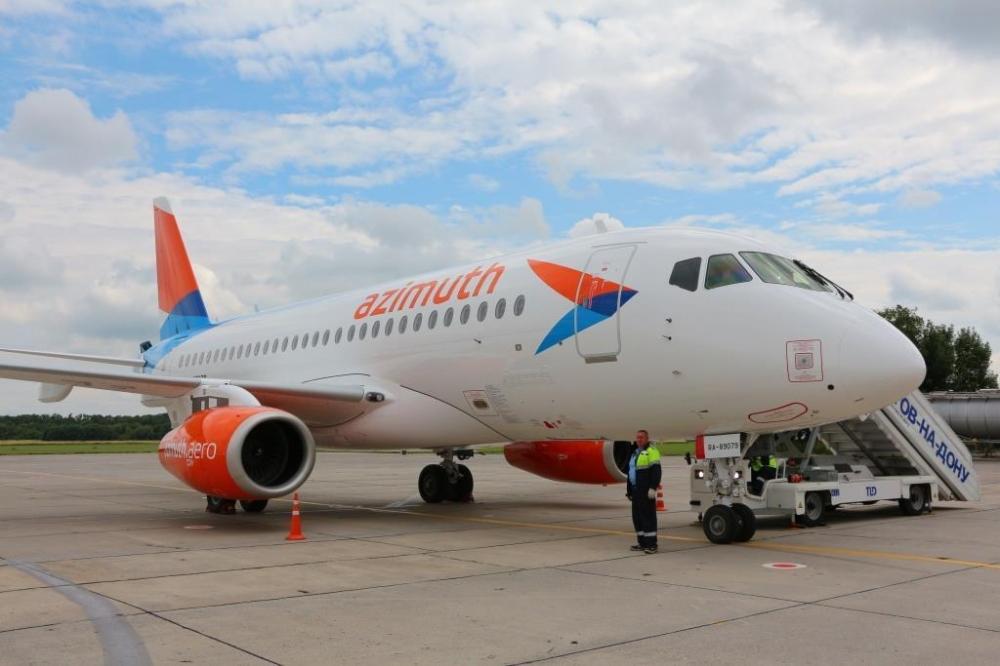 ИзРостова вылетел 1-ый стабильный рейс авиакомпании «Азимут»