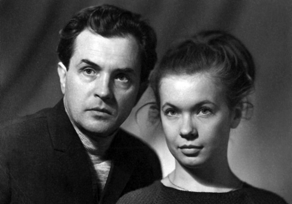 Александр и Ольга Зиновьевы. 1965 год.