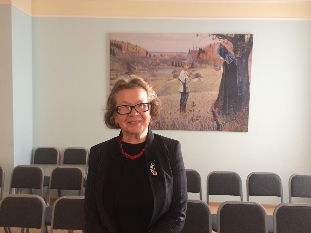 Ольга Зиновьева в Омске. 9 октября 2018 года.