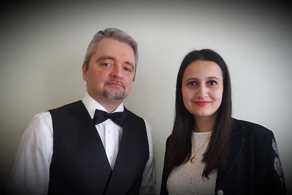 Елена Калашникова и Лука Массалья